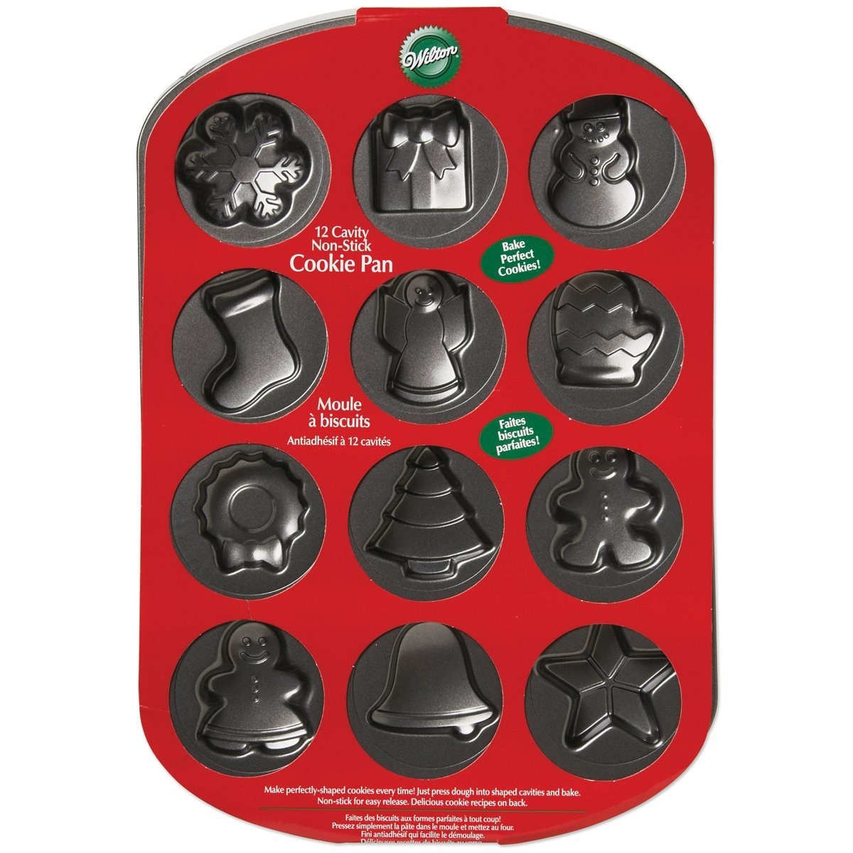 Wilton Cookie Cutters Christmas
