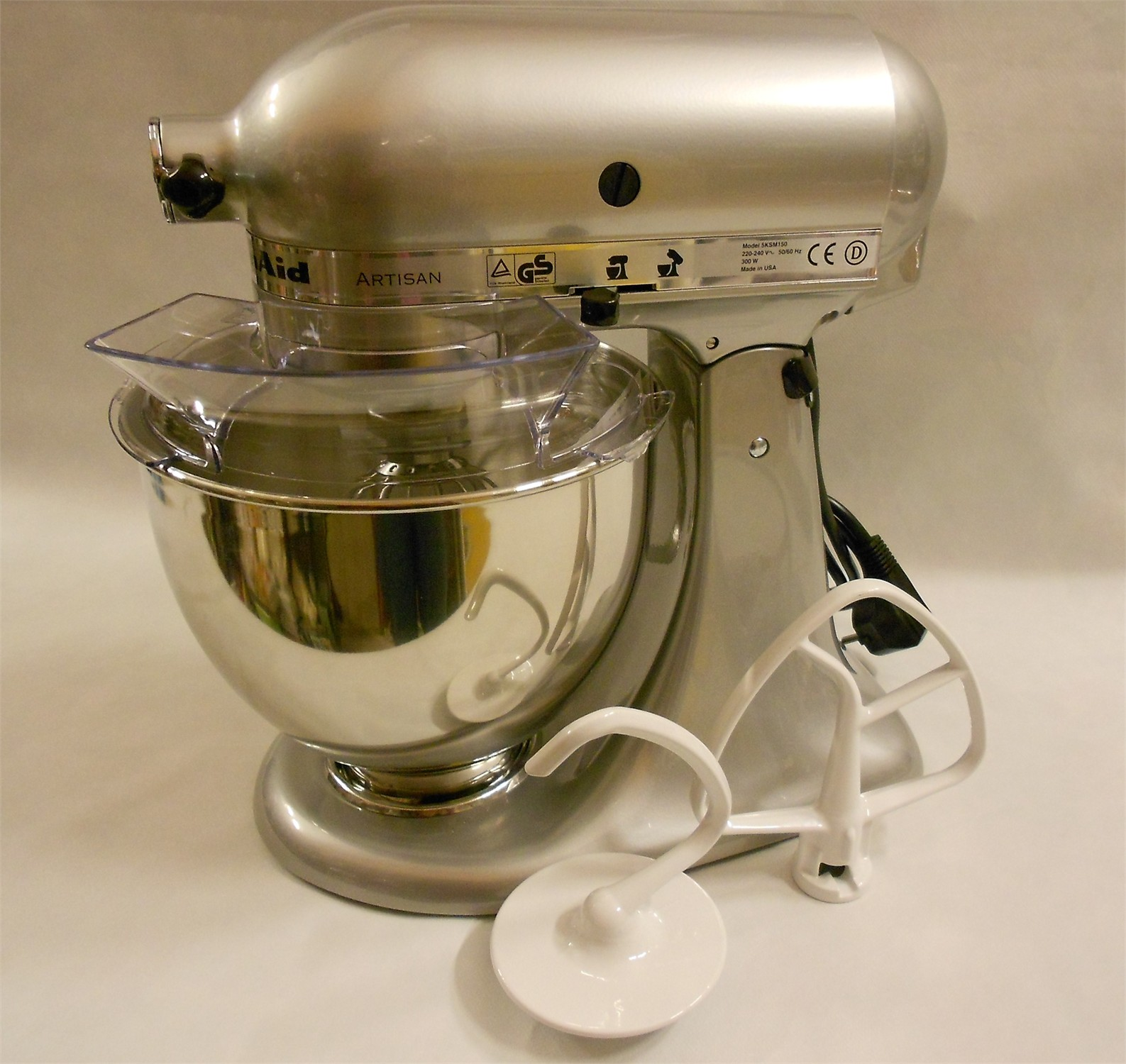 Planetaria KitchenAid Silver 4,8 lt. - KitchenAid - Piccoli ...