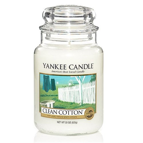 Clean cotton giara media YANKEE CANDLE