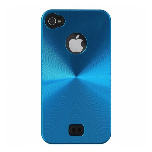 Cover Iphone 4/4S turchese metallizzato LCL