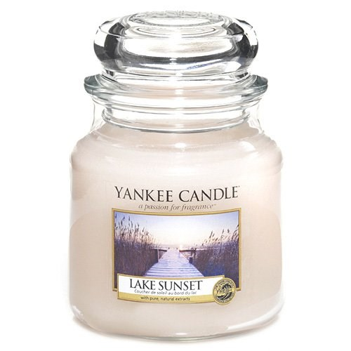 Lake Sunset Giara media YANKEE CANDLE