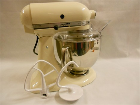 Planetaria KitchenAid Crema - KitchenAid - Piccoli Elettrodomestici ...