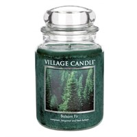 Balsam Fir candela in Giara Village Candle