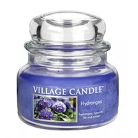 Hydrangea candela in Giara 312 gr (11 oz) Village Candle