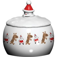 Biscottiera fiocco di neve Let it snow Alessi