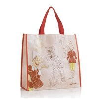 Brandani Shopping Bag il gatto e la volpe Pinocchio collection