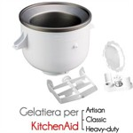 Gelatiera accessorio per KitchenAid