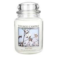 Pure Line candela in giara 26 oz Village Candle