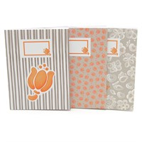 Set 3 notebook A6 Allovertulip Thun