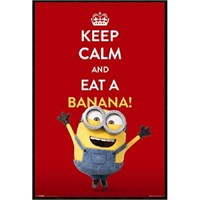 Stampa , quadro Minions keep calm 61 x 91 cm CM CREATION