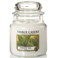 White tea giara media YANKEE CANDLE