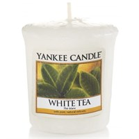 White tea votivo YANKEE CANDLE
