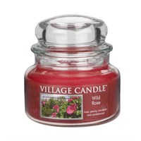 Wild Rose candela in giara 11 oz Village Candle