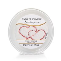 Yankee candele Easy MeltCups Snow in love cialda YANKEE CANDLE
