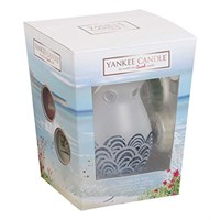 Yankee Candle Coastal Living Melt Warmer & 4 Wax Melt Confezione regalo