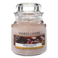 Yankee candle Ebony & oak giara PICCOLA